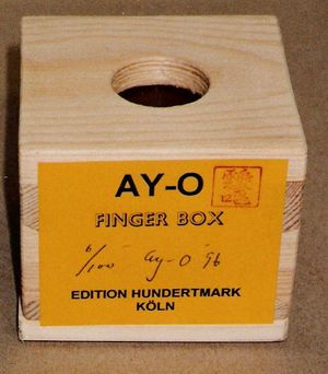 AY-O, FINGER BOX
