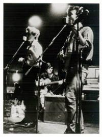 Photo-Art P. Brückmann: John Lennon, George Harrison, Stuart Sutcliff, 1961