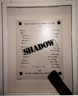 MIEKO SHIOMI, SHADOW EVENT NO. X