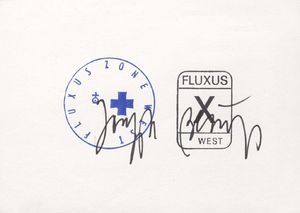Joseph Beuys, Fluxus Zone West / Fluxus West